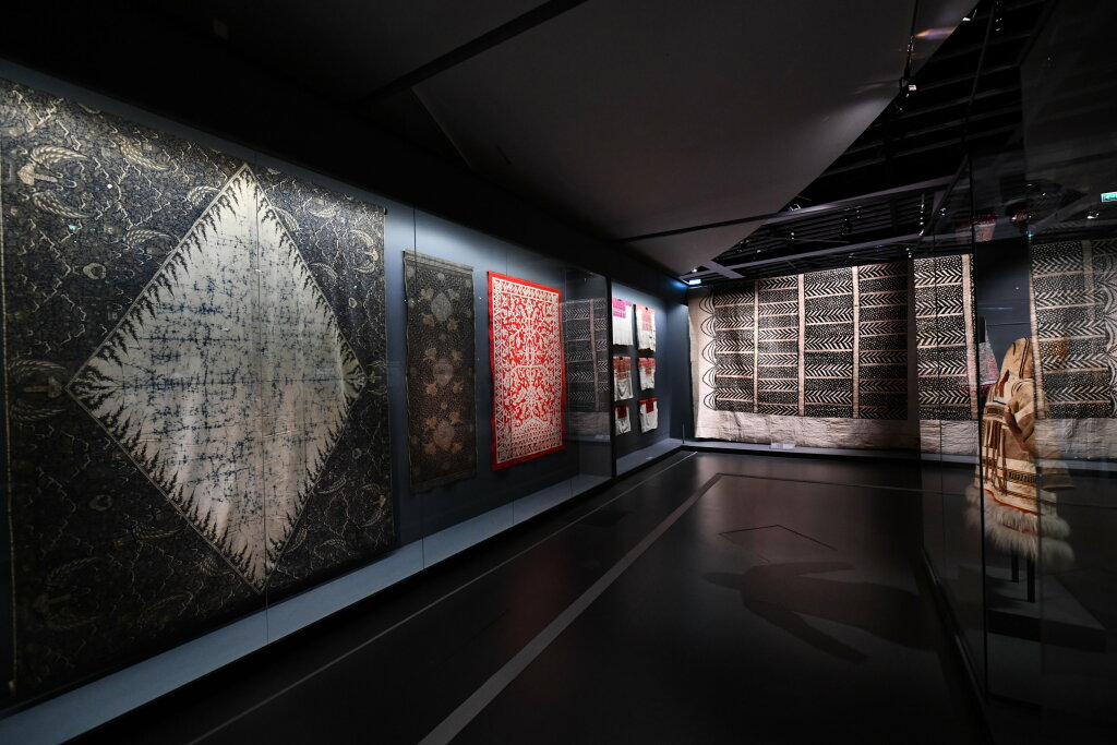 Vue exposition - 20 ans d'acquisition - Quai Branly Paris