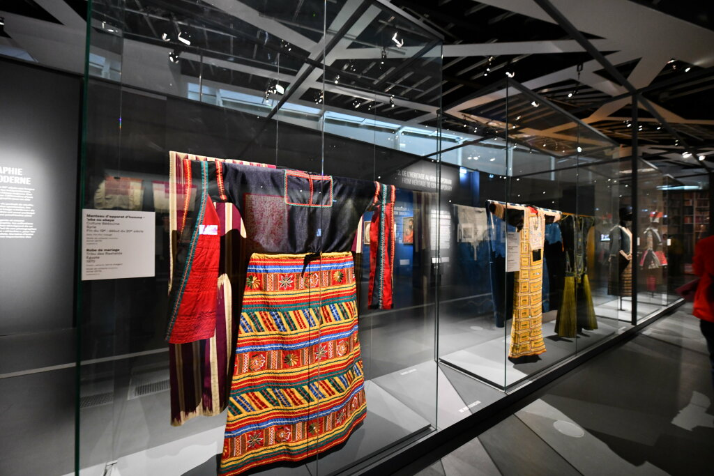 Vue exposition - 20 ans d'acquisition - Quai Branly Paris (13)
