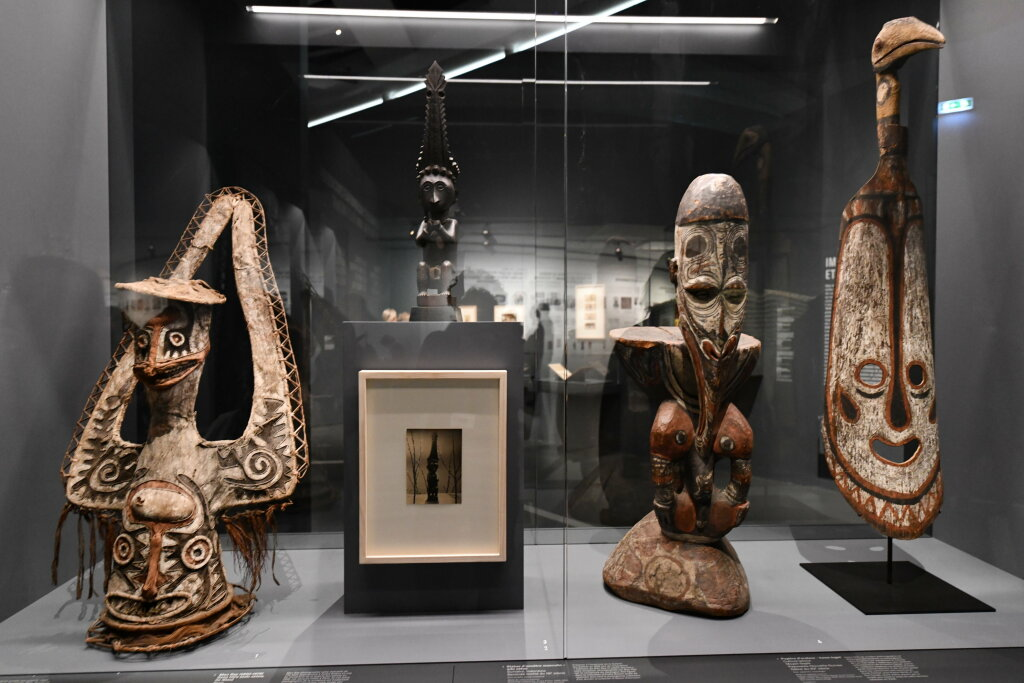 Vue exposition - 20 ans d'acquisition - Quai Branly Paris (27)