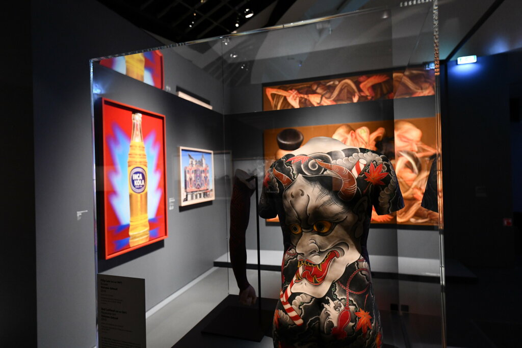 Vue exposition - 20 ans d'acquisition - Quai Branly Paris (30)