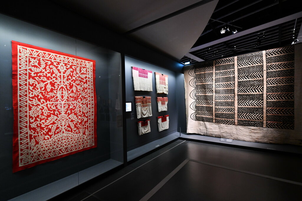 Vue exposition - 20 ans d'acquisition - Quai Branly Paris (4)
