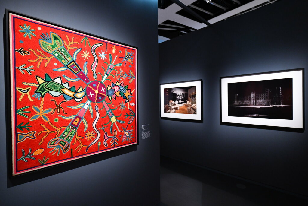Vue exposition - 20 ans d'acquisition - Quai Branly Paris (6)