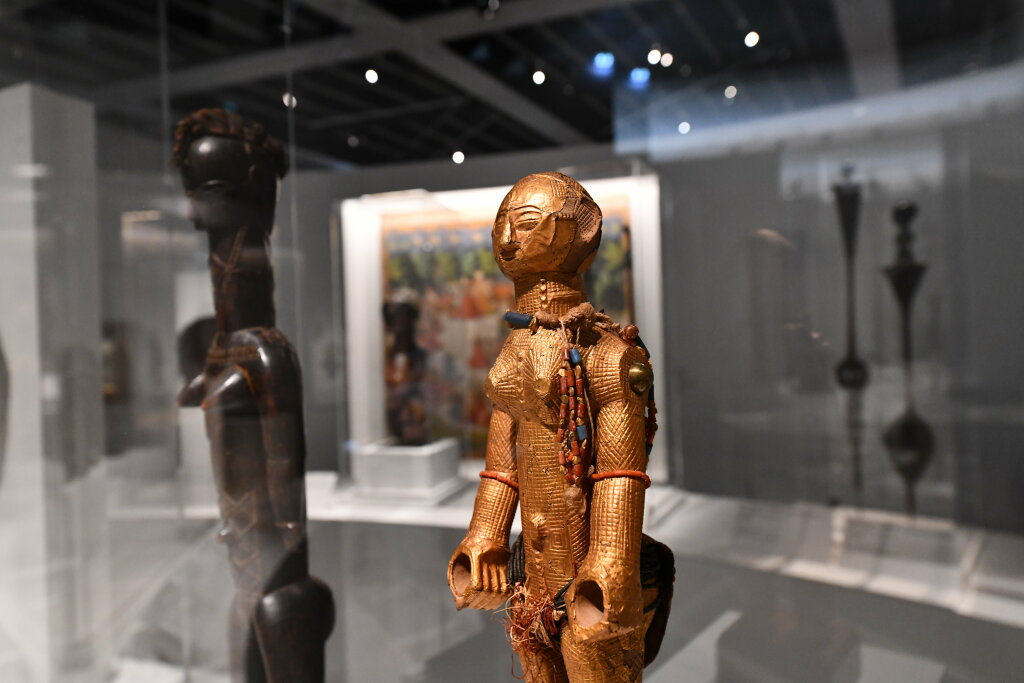 Vue exposition - 20 ans d'acquisition - Quai Branly Paris (8)