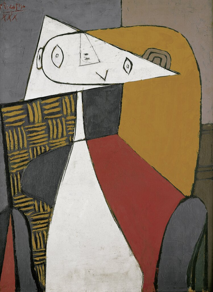 Picasso_Figure femme assise_Beyeler