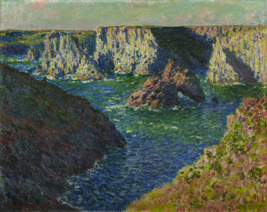 Claude Monet, Les Rochers de Belle-Ile , 1886