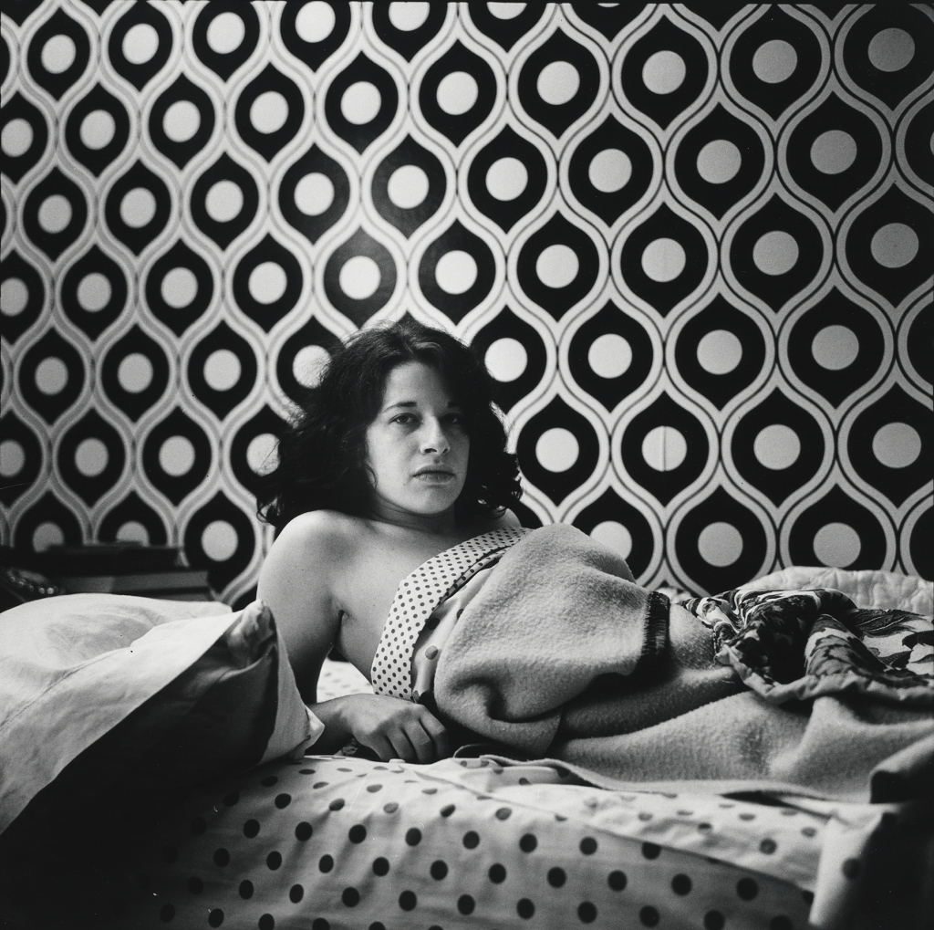 Peter Hujar, Fran Lebowitz at Home in Morristown,New Jersey,1974