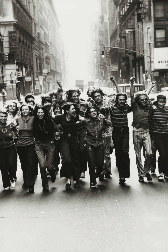 1. Peter Hujar, Gay Liberation Front Poster Image, 1970 Tirage gélatino-argentique, The Morgan Library & Museum, achat en 2013 grâce au Charina Endowment Fund