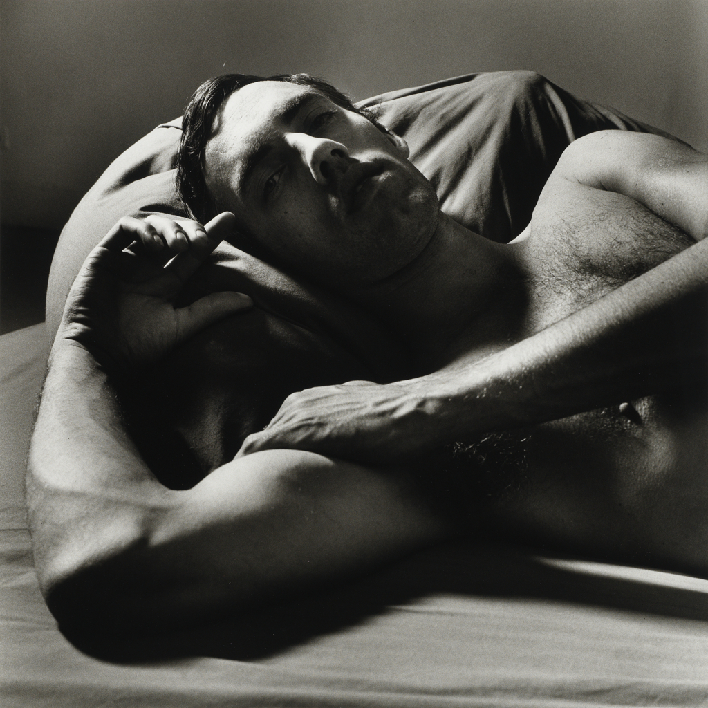 8. Peter Hujar, David Wojnarowicz Reclining (2), 1981 Tirage gélatino-argentique, The Morgan Library & Museum, achat en 2013 grâce au Charina Endowment Fund