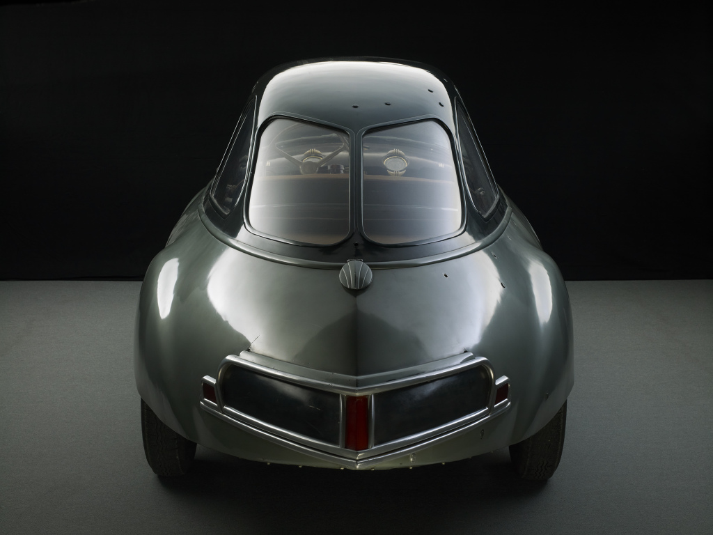 Louis Bionier Panhard Dynavia, 1948, Concept-car Mulhouse, musée national de l'Automobile