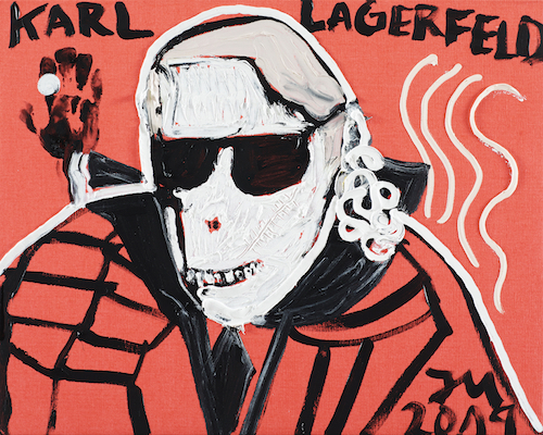 "Jonathan Meese, DR. CHEF-HAUTE-COUTURE ""SIEGMUND""! DE LARGE!, 2019"