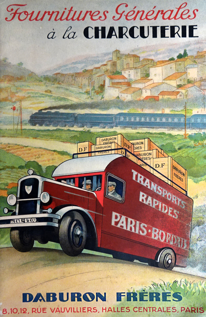 Catalogue Daburon Transport, 1933