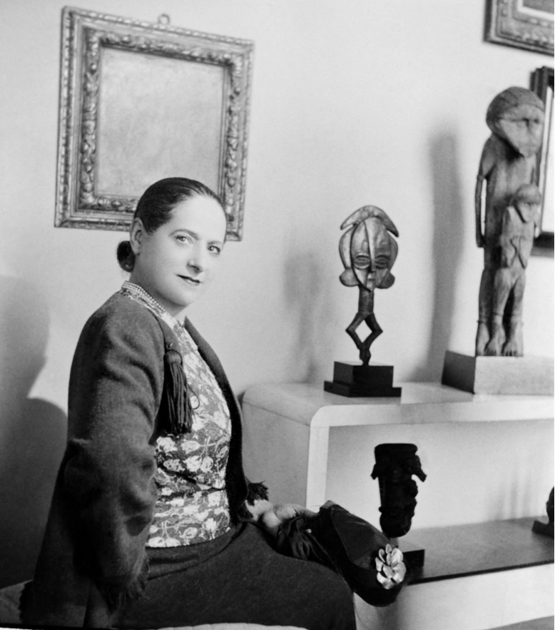 Exposition Rubinstein, Quai Branly, Portrait Helena Rubinstein
