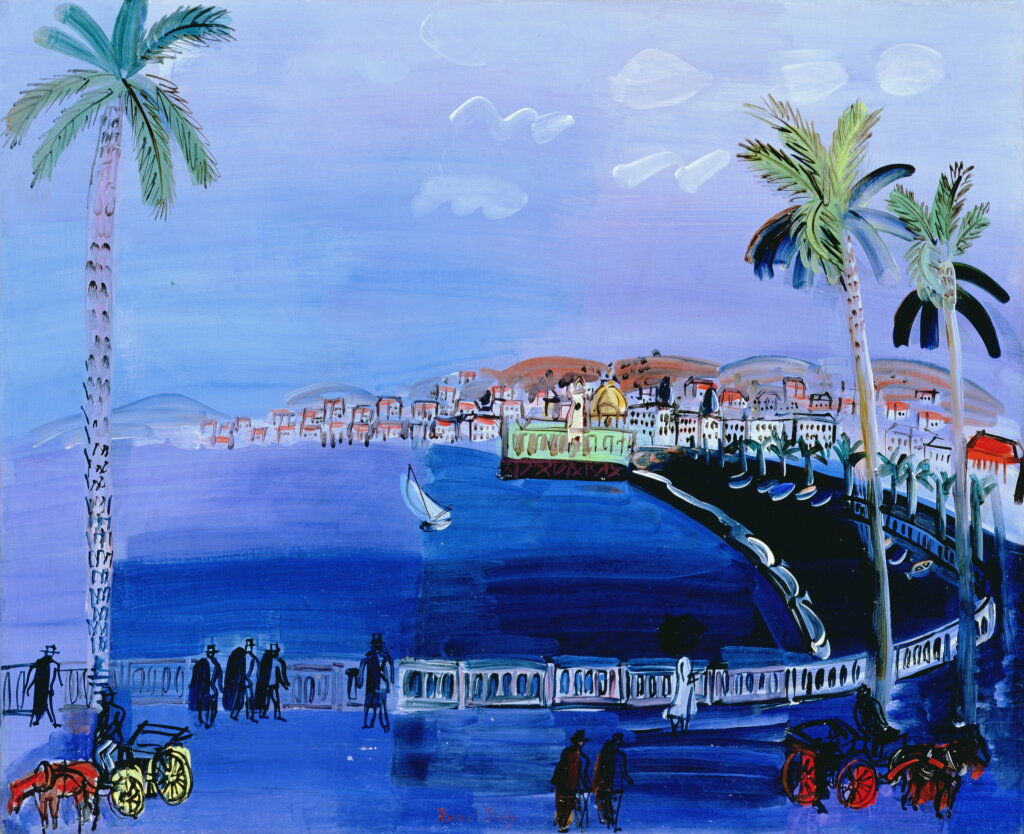 Raoul Dufy, Baie des Anges, Nice, vers 1926