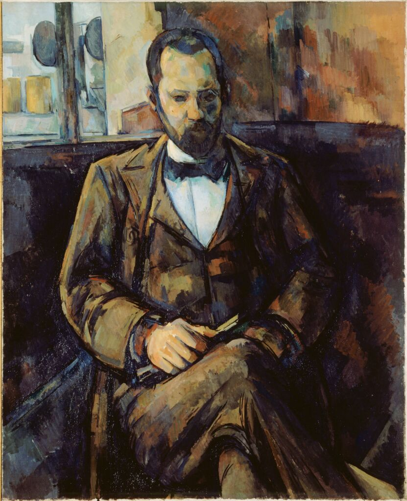Paul Cézanne, Portrait d'Ambroise Vollard 1899