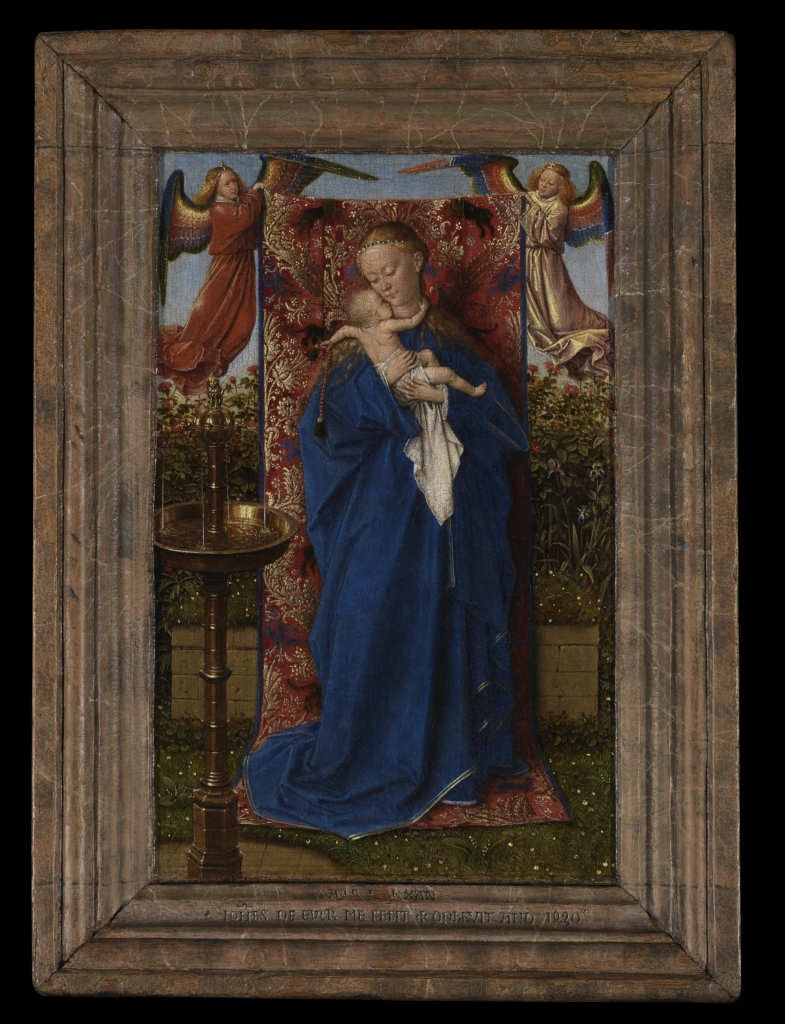 Jan Van Eyck, La Vierge à la fontaine, 1439