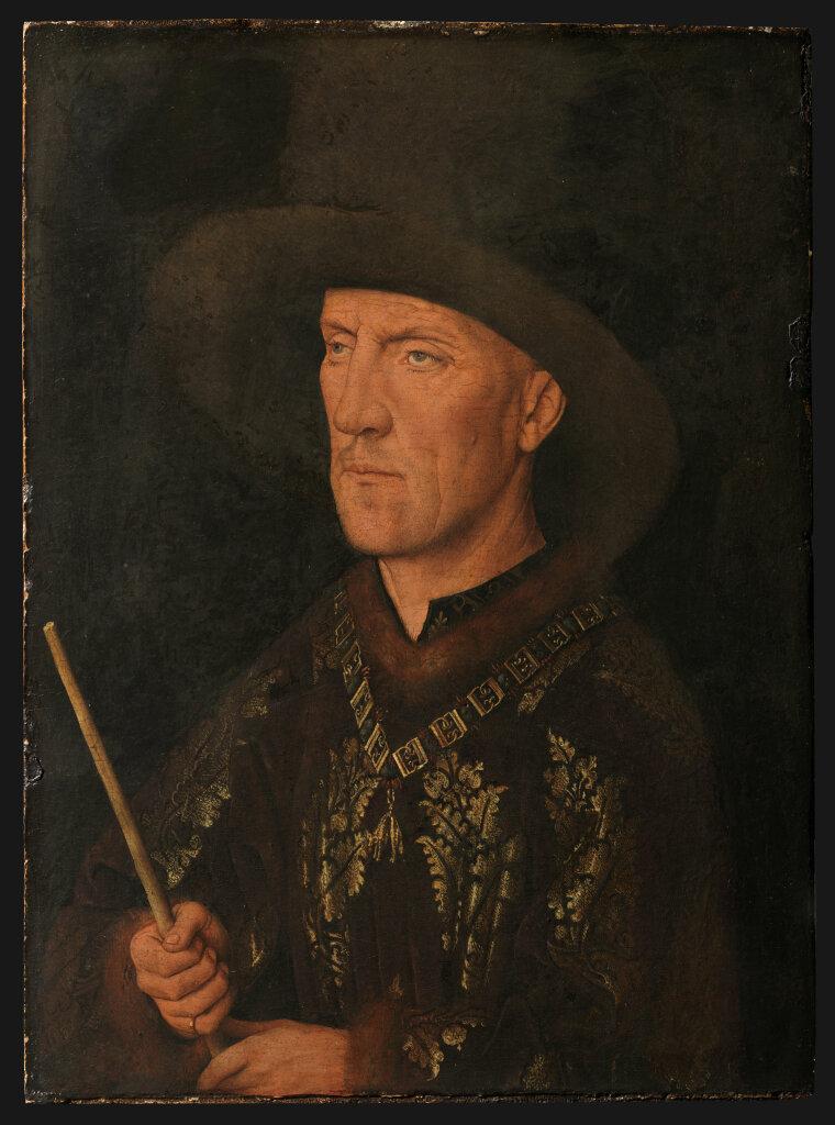 Jan van Eyck, Portrait de Baudouin de Lannoye, vers 1435