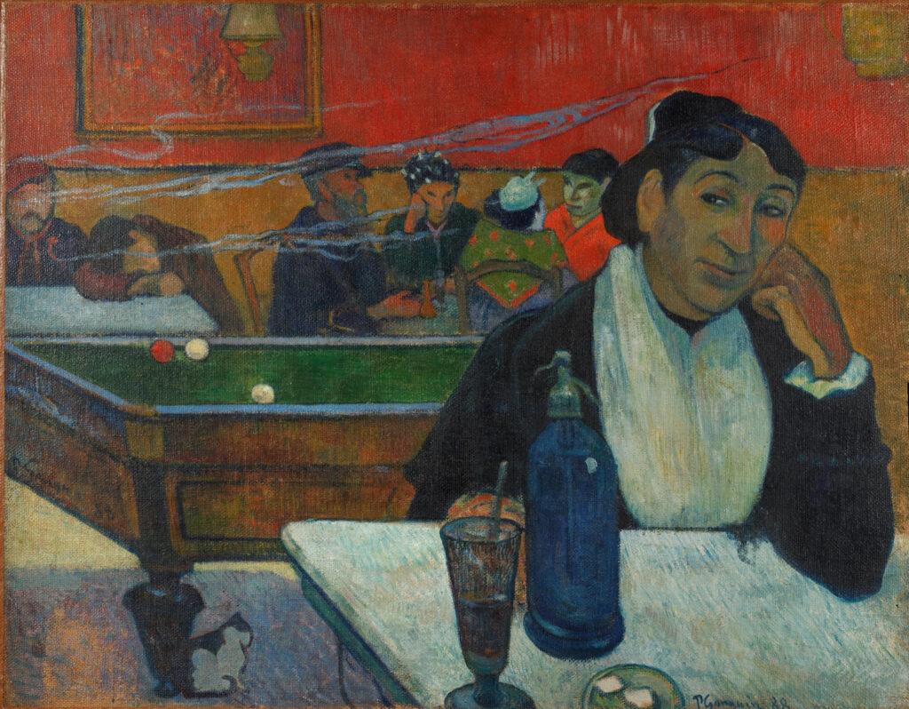 Paul Gauguin, Café à Arles, 1888