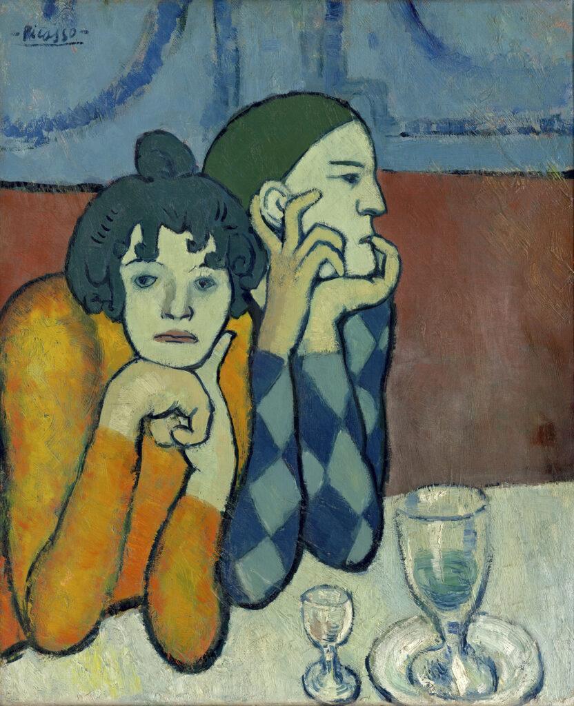 Pablo Picasso Les Deux Saltimbanques, 1901