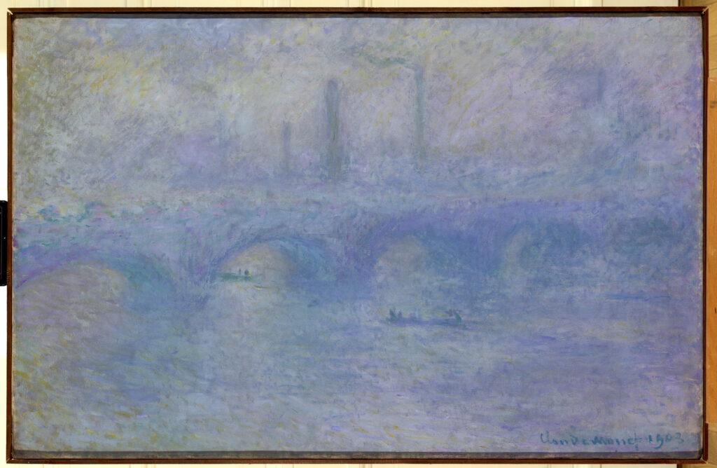 Claude Monet, Waterloo bridge. Effet de brouillard , 1903
