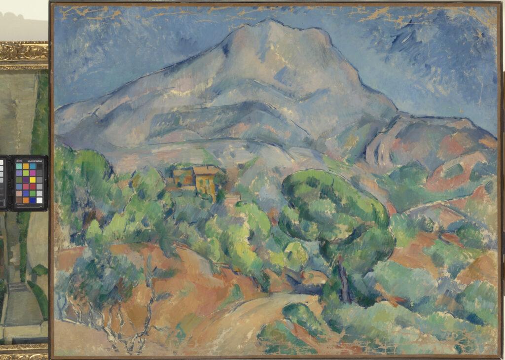 Paul Cézanne, Paysage. Montagne Sainte Victoire , env. 1896 1898