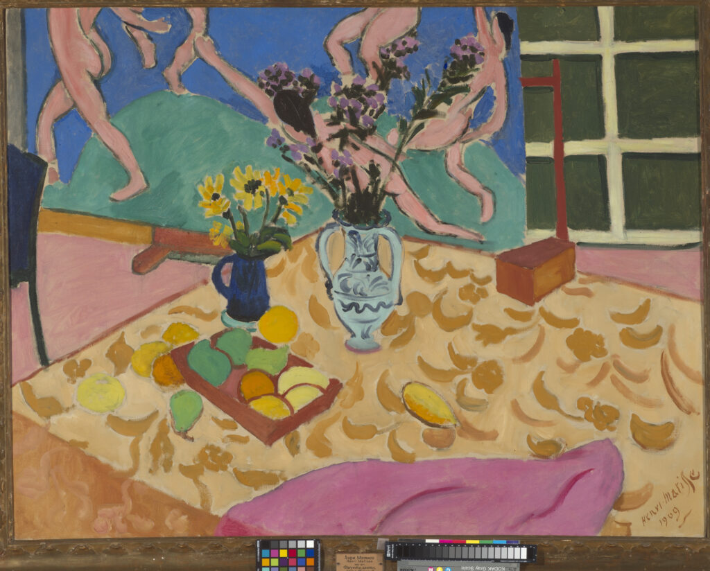 Henri Matisse Nature morte à La Danse Danse, 1909