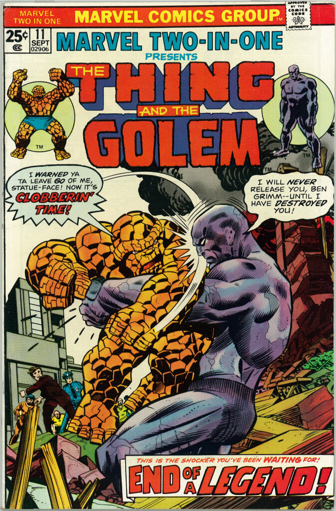 Bob Brown, The Thing and The Golem, 1975
