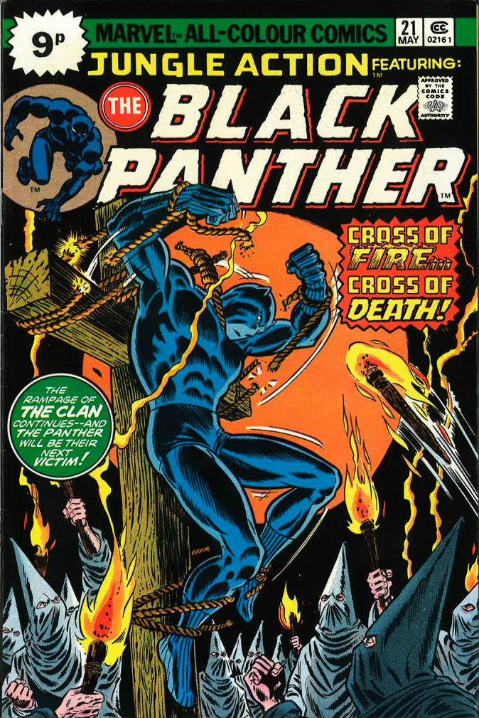 John Romita Sr, Danny Crespi, Black Panther, Jungle Action, 21, 1976