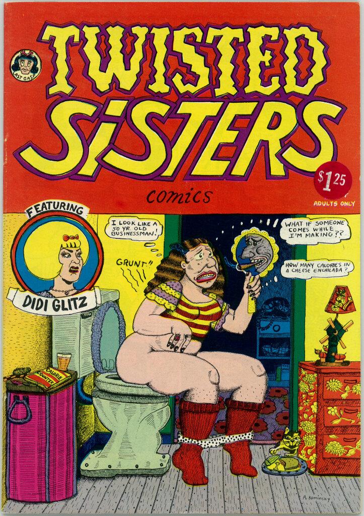 Aline Kominsky-Crumb, Diane Noomin, Twisted Sisters, 1976