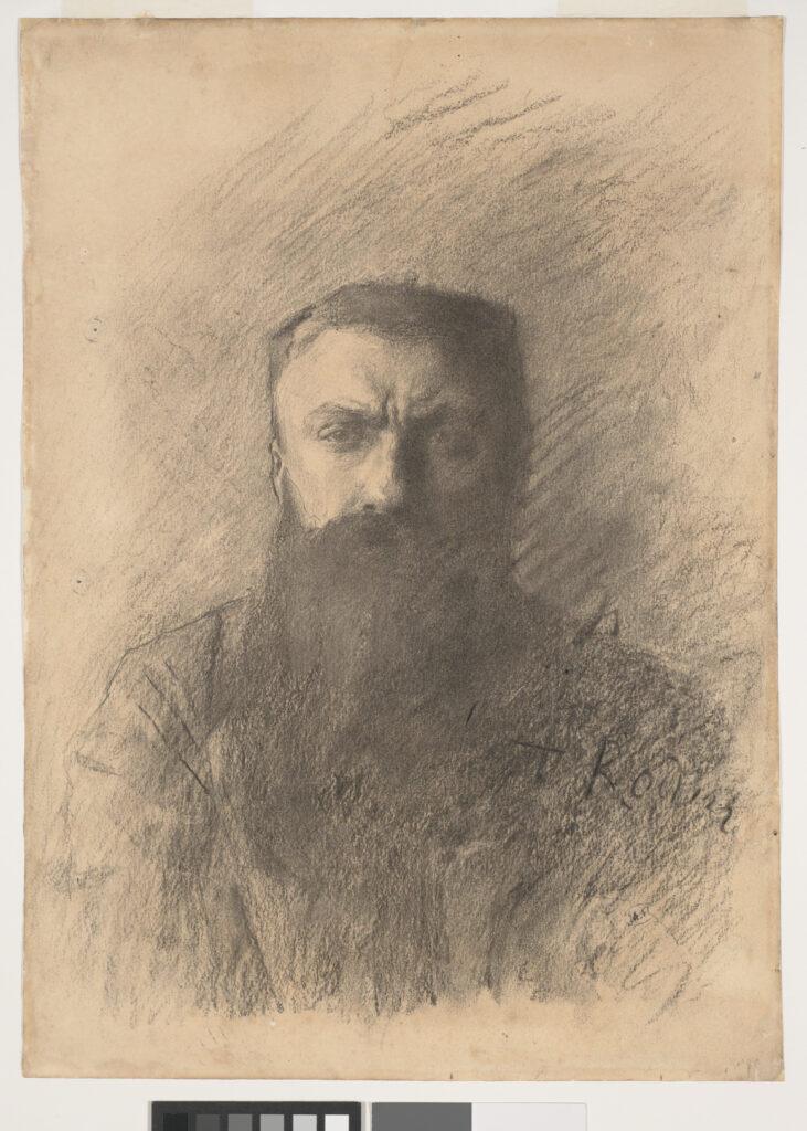 Auguste Rodin, Autoportrait, vers le 11 novembre 1898