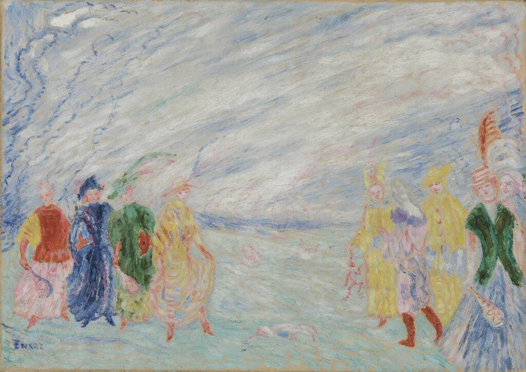 James Ensor, La rencontre, 1912