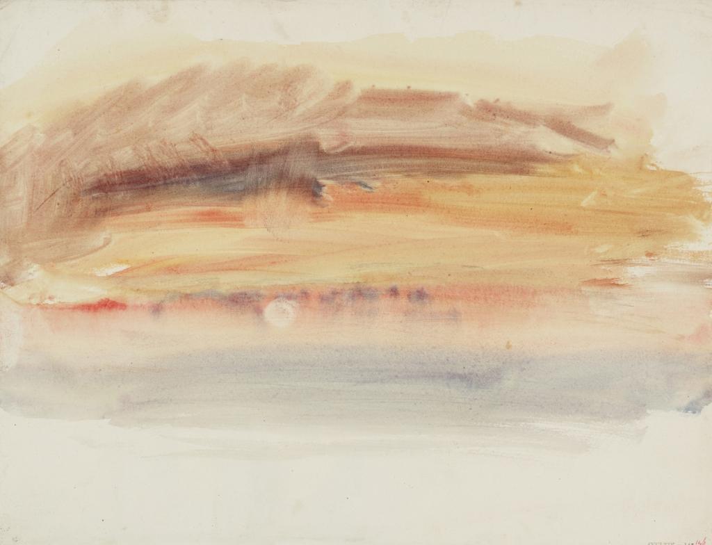 Turner, Coucher de soleil