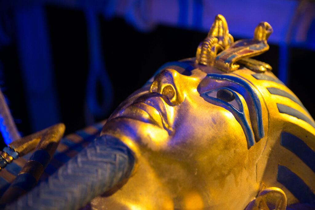 Couvercle du sarcophage de Toutankhamon, réplique