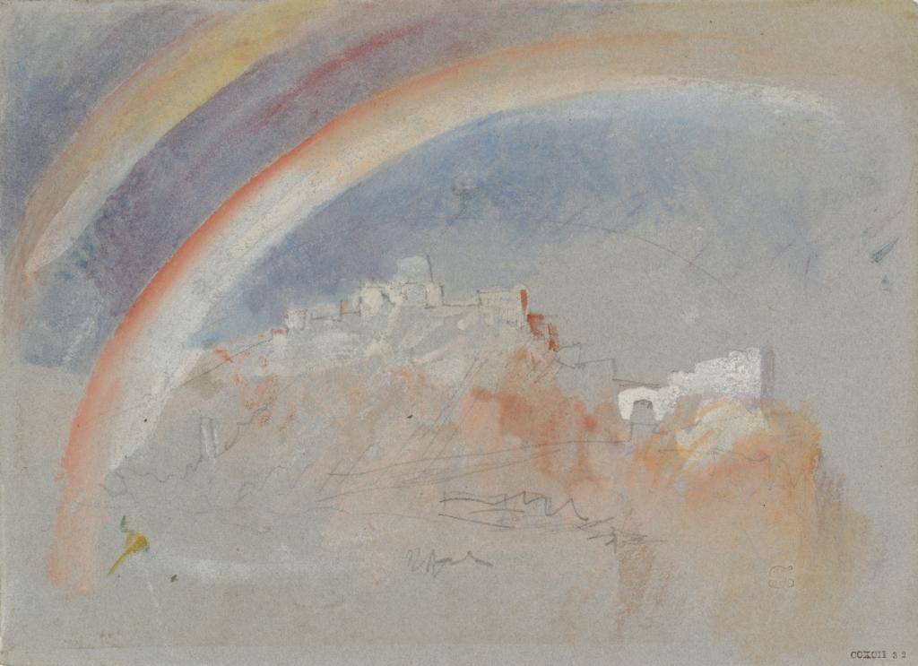 Turner, Ehrenbreitstein avec un arc-en-ciel