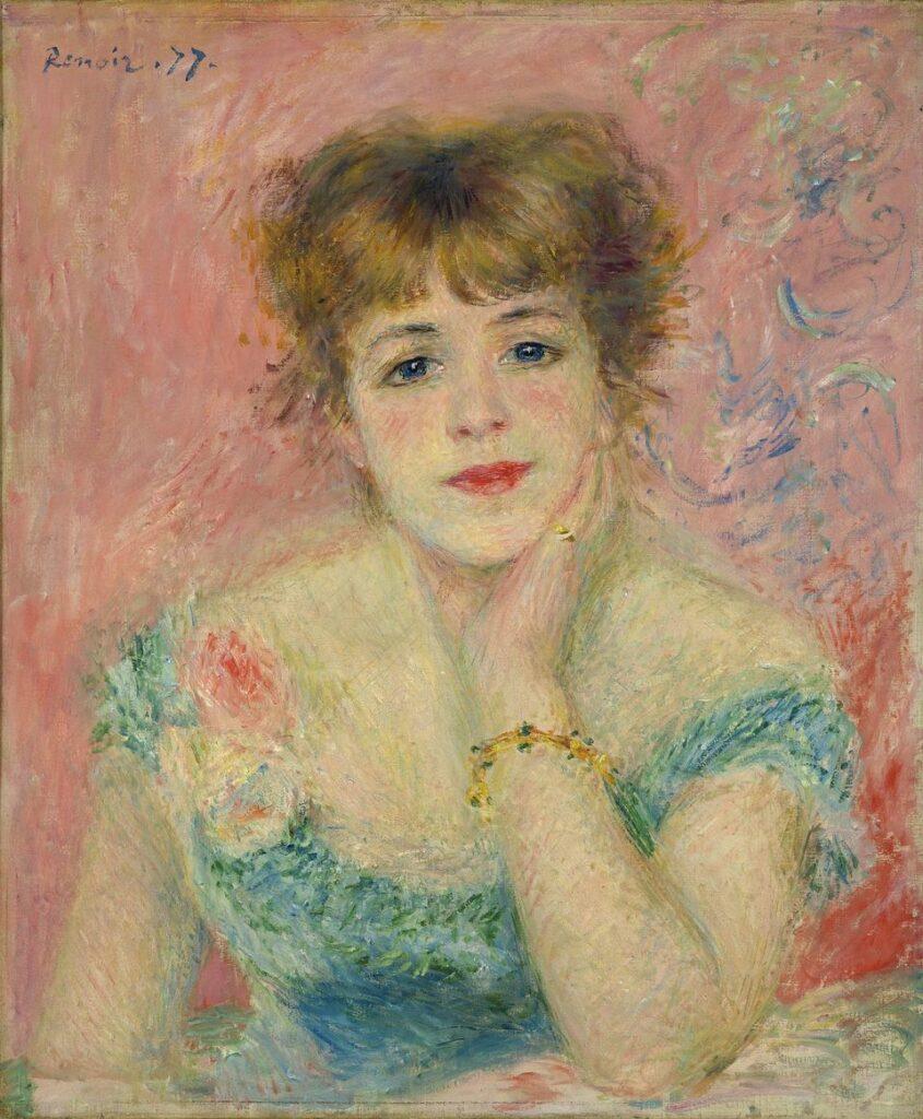 Renoir, Portrait de Jeanne Samary ou La Reverie, 1877