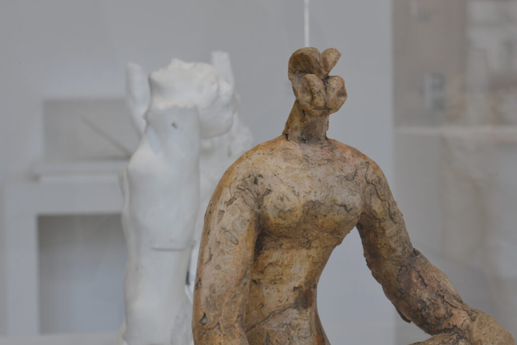 Vue de l'exposition Picasso Rodin