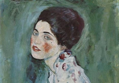 Gustave Klimt, Portrait d'une dame, vers 1916, huile sur toile, 60 x 55 cm. Photo Yorck Project / Directmedia