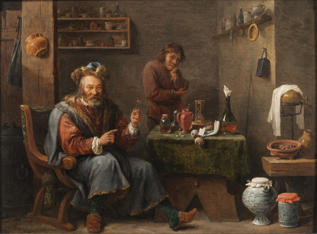 The Dentist or the tooth puller, David Teniers