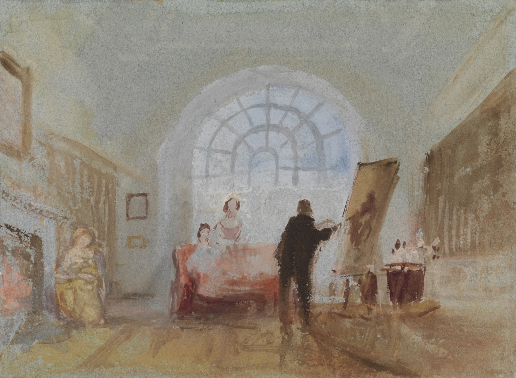 Turner, L'Artiste et ses admirateurs