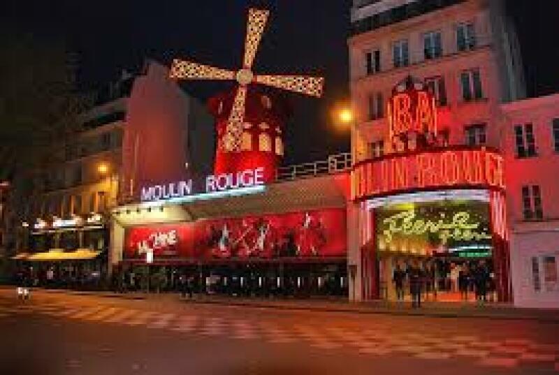 Le célèbre Moulin Rouge  ©Pixabay.com
