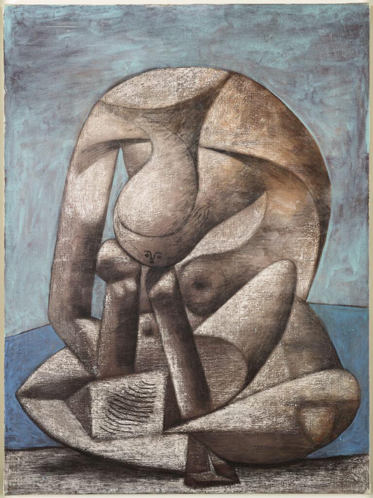 Pablo Picasso, Grande baigneuse au livre, 1937