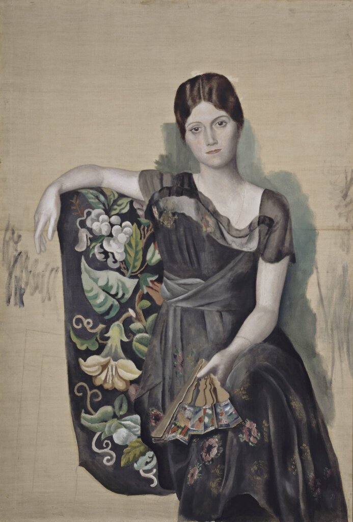 Pablo Picasso - Portrait d'Olga dans un fauteuil - 1918