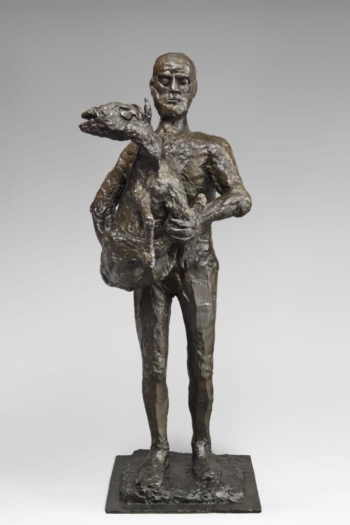 Pablo Picasso, L'homme au mouton,1943