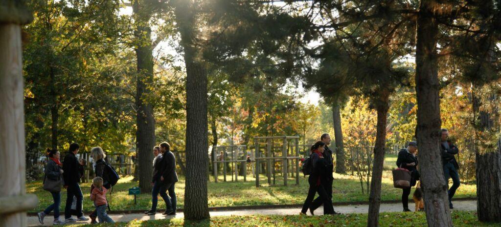 Promenade au Jardin d'Acclimatation