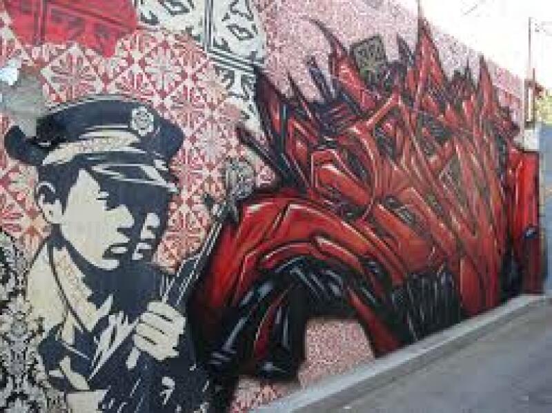 Street art Obey  ©Flickr