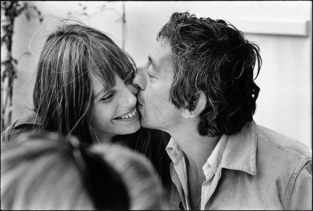 Jane Birkin et Serge Gainsbourg photographiés en Normandie par Tony Frank