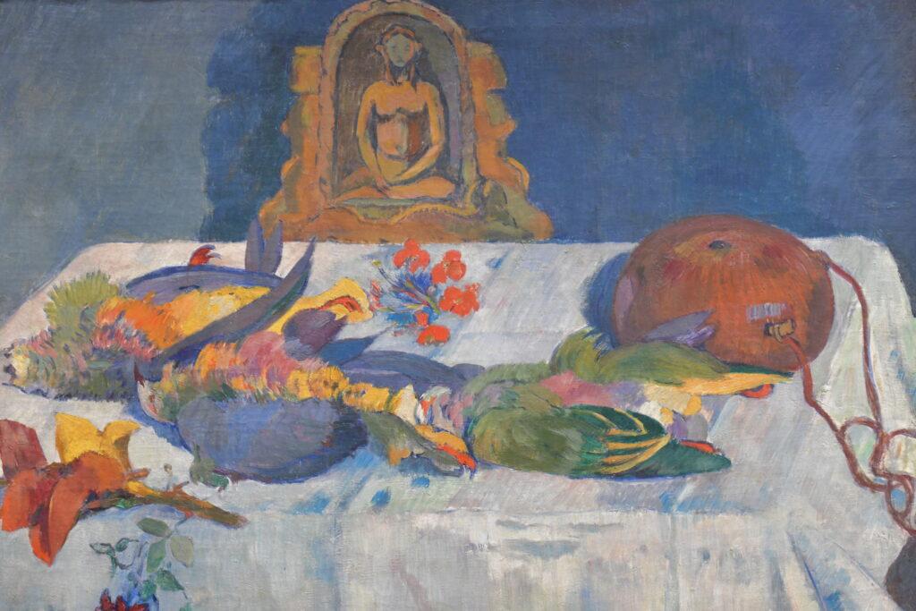 Vue de l'exposition de la Collection Morozov à la Fondation Vuitton