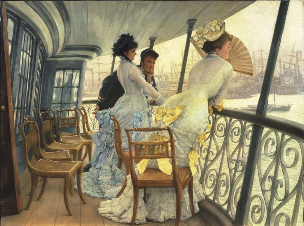 Exposition Orsay - James Tissot, La galerie du HMS Calcutta (Portsmouth)