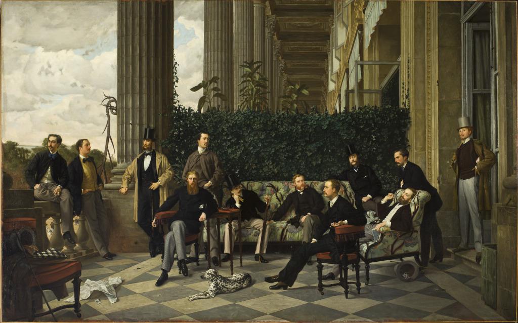 Exposition Orsay -Tissot, Le Cercle de la Rue Royale