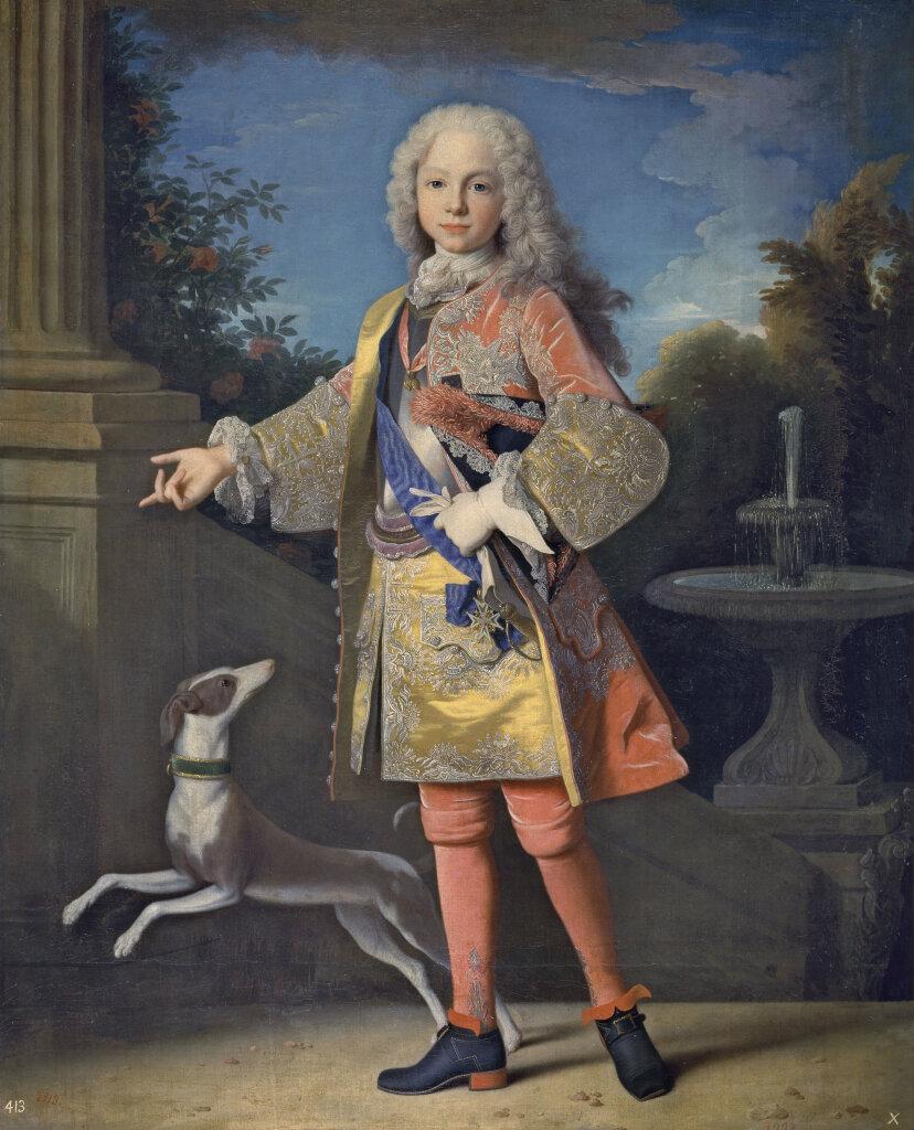 Jean Ranc, Portrait de l'infant Ferdinand, futur roi d'Espagne, vers 1723