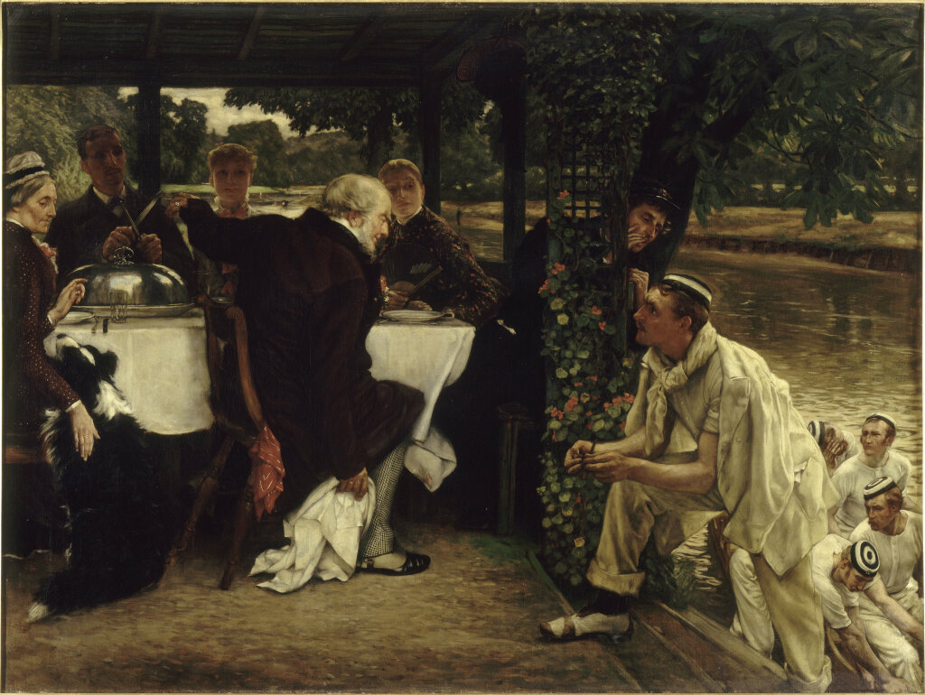 Exposition Orsay - James Tissot, L'Enfant prodigue : le Veau gras